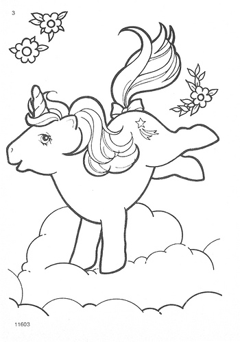My Little Pony G1 Coloring Pages | Flickr - Photo Sharing!