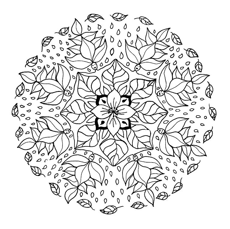 72 mandalas for painting in meditation - mandalas worldwide
