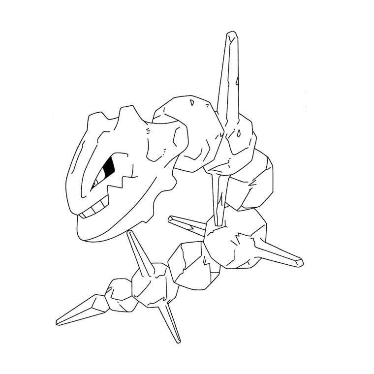 pokemon ex coloriage