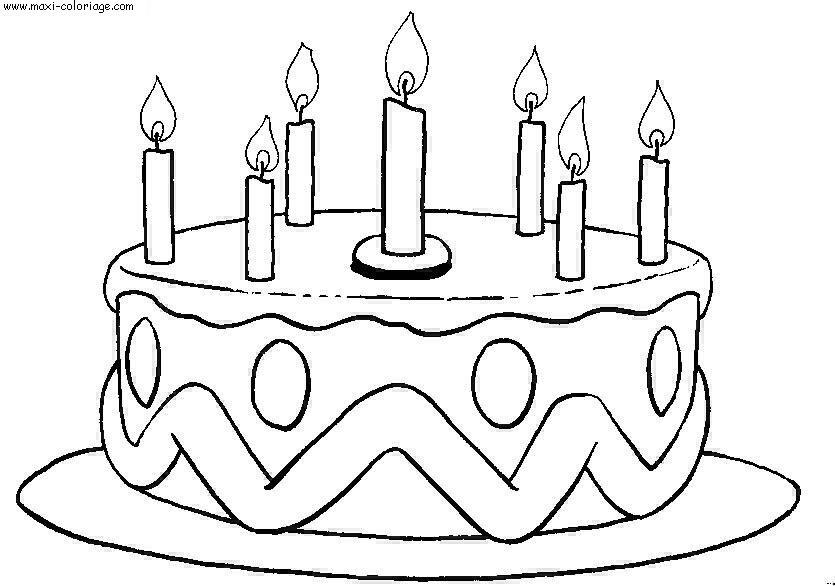 coloriage gratuit anniversaires dessin gratuit anniversaires