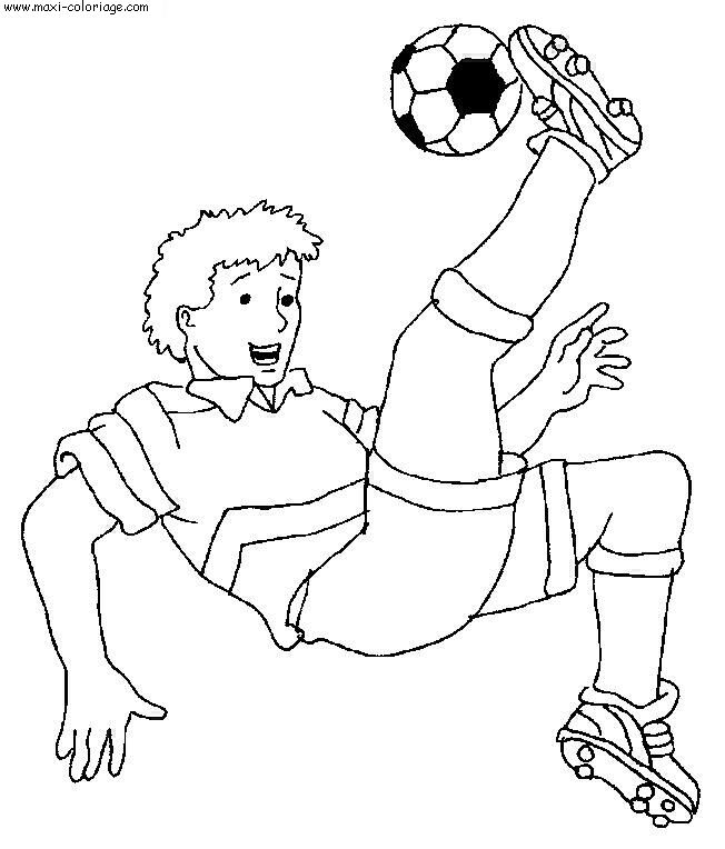 coloriage gratuit football, dessin gratuit football, football