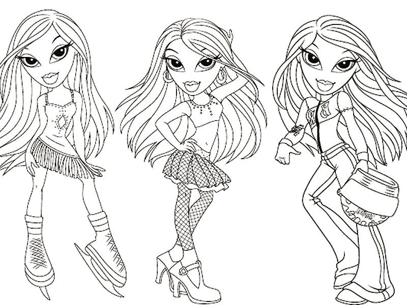 Mode Top Model Coloriage Fille.Top Modele Dessins A Colorier Az Coloriage
