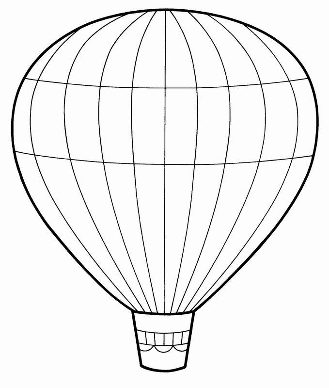 montgolfiere a dessiner