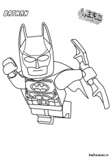 lego batman 2 Coloriage