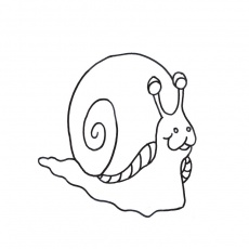 coloriages escargot
