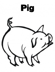 Peppa-Pig-Coloring-PageFree coloring pages for kids | Free
