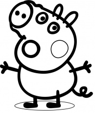 georges pig Coloriage