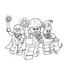 lego star%wars Coloriage