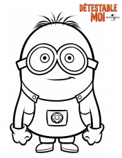 minion 2 Coloriage