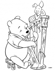 coloriage winnie l ourson - image a prendre .Coloriage.Coloriage