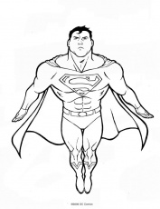 Dessin Colorier Superman Search Pictures Photos
