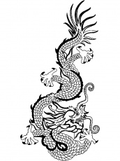 dessins dragon japonais