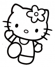 coloriages hello kitty a colorier