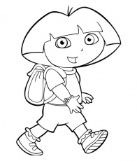 10 COLORIAGES DE DORA - Page 3