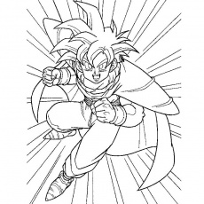 coloriages a imprimer dragon ball z