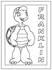 franklin à colorier