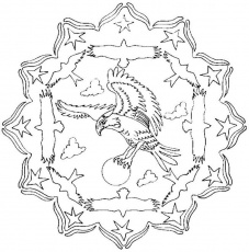 Coloriage Imprimer Mandala Dragon Gratuit Colorier Wallpapers Pictures