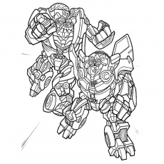 robots transformers Coloriage