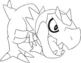 coloriage pokemon x et y Coloriage
