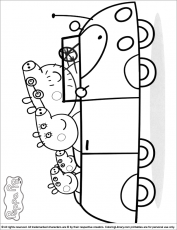 Peppa Pig Colouring Pages (page 3)