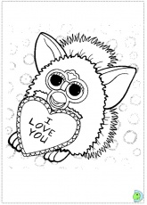 furby boom?s Colouring Pages