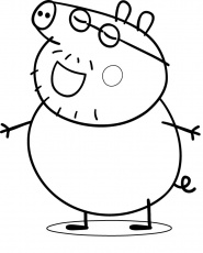 pig Coloriage