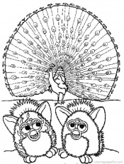 Furby Coloring Pages - Page 2 of 3 - Free Printable Coloring Pages