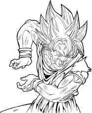 regular gohan Colouring Pages (page 2)