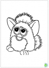 furby?s Colouring Pages