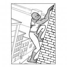 coloriages spiderman 3