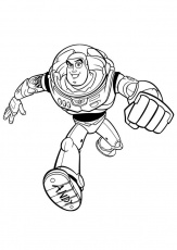 Coloriage Toy Story - Buzz l'Éclair - img 20752