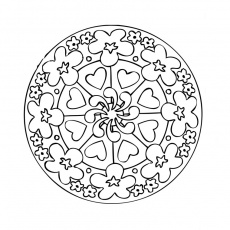 Coloriage Mandala Difficile A Colorier