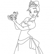 Lacprincesse Coloriage