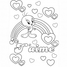 "le mot ""love"" Coloriage"