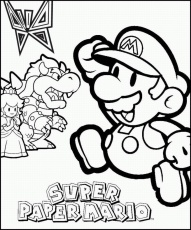 coloriages divers Mario Bross