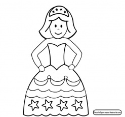 Pin Coloriages Princesses Sur Special Fillescom Froblog on Pinterest