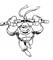 Free Coloring Teenage Mutant Ninja Turtles