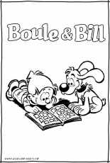 Coloriages de boule bill , boule et bill le film , Boule et Bill