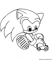sonic coloringpages Coloriage