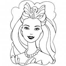 Coloriage Barbie En Page 40 Images