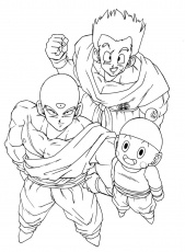 dragon ball gt Coloriage