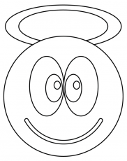 SMILEY Coloriage