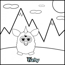 Furby Coloring Book on Pinterest | 21 Pins