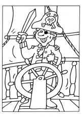 coloriages de pirates | Pirates de Thiers