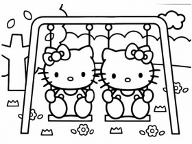 coloriages hello kitty - Page 2