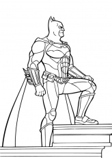 Coloriage BATMAN - Lasso de Batman