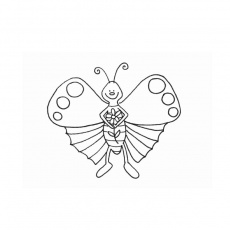 Pin Of Coloriage Papillon Imprimer Gratuit Dessin De A Colorier