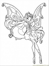a club enchantix Colouring Pages