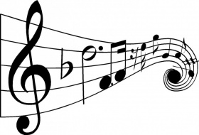 White Musical Notes Clip Art | Clipart Panda - Free Clipart Images