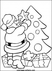 coloriages noel